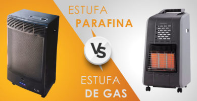 Comparativa estufa de gas o estufa de parafina