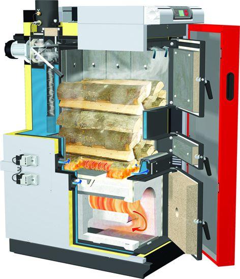 Las ventajas de las calderas de gasificación de leña