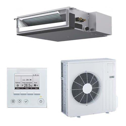 Ejemplo de un aire acondicionado centralizado