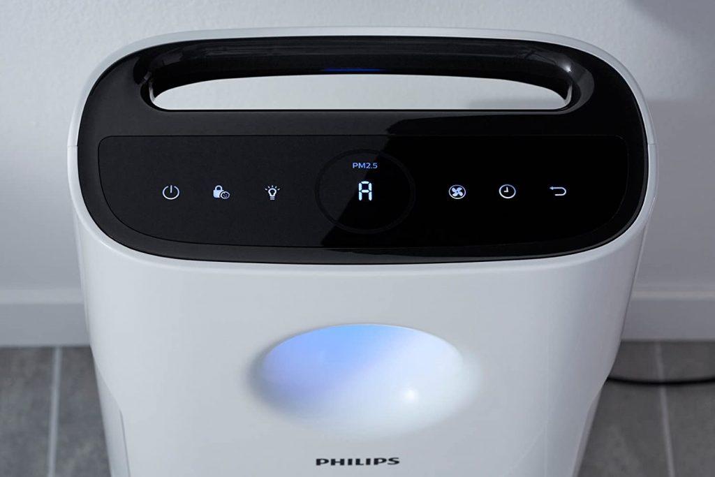 Interfaz del Purificador Philips AC3256/10