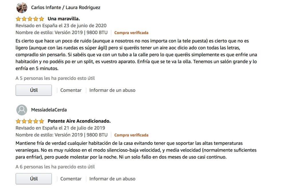 Análisis del climatizador portátil De'Longhi PAC N90 Eco Silent 1